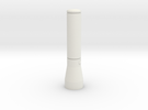 1/10 Scale Maglite Flashlight in White Strong & Flexible