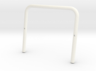 SR40002 Beach Buggy Classic Roll Bar in White Strong & Flexible Polished