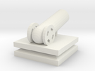 Cannon Small in White Strong & Flexible