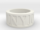 PIC 5.5 Ring Size 5.5 in White Strong & Flexible
