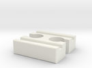 Ikea LILLABO F-F Connector 40mm in White Strong & Flexible