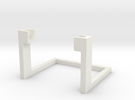 Desk Stand for HTC One in White Strong & Flexible