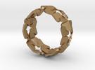 Bracelet by Andreas Fornemark in Matte Gold Steel