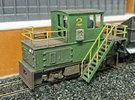 N-scale quench locomotive (RIGHT-hand version) in Frosted Ultra Detail