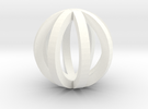Sphere in White Strong & Flexible Polished