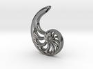 Nautilus Spiral: 4cm in Premium Silver