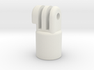 Painters Pole Threaded Mount in White Strong & Flexible