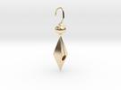 Golden cheap cute earring in 14K Gold