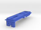 Interior Mount - 3mm - With USB in Blue Strong & Flexible Polished