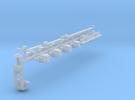 GN 15 Zurüstteile für Rechteckunterwagen in Frosted Ultra Detail