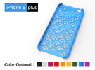 IPhone6 Plus Case-clouding in Blue Strong & Flexible Polished