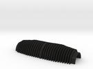 Veron Cylinder Double-Halve Replica(For Merr Sonn) in Black Acrylic