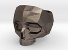 Lapidated Skull Size 13 (inner diameter = 22.2 mm) in Stainless Steel