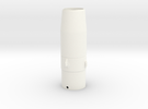 Black Brant lll Nose Cone BT55  PT1 in White Strong & Flexible Polished