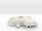 1/100 Chuyinka Assault Gun ShU-255 in White Strong & Flexible
