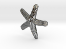 Groovy Starfish Earring in Premium Silver