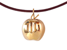 Mela pendant in 18K Gold Plated