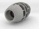 Rocket Lamp in Metallic Plastic