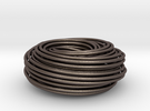 Torus Knot Knot 2 7 2 7 in Stainless Steel