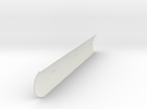 Heat Shield Stbd V0.1 in White Strong & Flexible