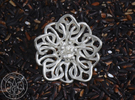 Blossom #4 in Polished Silver