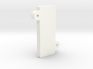 V1 - Screen Clamp in White Strong & Flexible Polished
