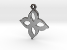 myflower in Polished Silver
