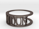 Typo LONDON Ring (Size 8) in Stainless Steel