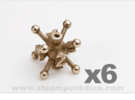 Jack 6d6 Set in Stainless Steel