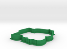 Bulbasaur Cookie Cutter in Green Strong & Flexible Polished