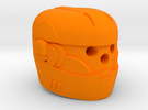 Sentinel Helmet in Orange Strong & Flexible Polished