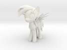 Rainbow Dash in White Strong & Flexible
