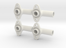 4 X Cable Gland For Spiralcable in White Strong & Flexible