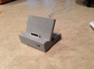 WaveGuide (an iPhone 4/ 4S Dock) in White Strong & Flexible