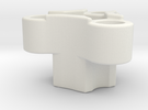 Rc-rim to 3 pin mount adaptor in White Strong & Flexible