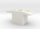 AMCC10 c-core bobbin winding spacer - 10mm dia sha in White Strong & Flexible