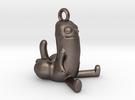 Dickbutt Pendant Keyring in Stainless Steel
