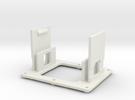 AMCC10 dual c-core mounting cradle v1 in White Strong & Flexible