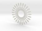 Spirograph03 in White Strong & Flexible