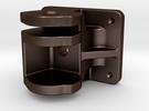 VR Coupler Pocket - STEEL in Matte Bronze Steel