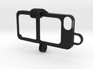 iPhone 5s Case - full goPro adapter in Black Strong & Flexible