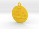 Medallion of Empire in Yellow Strong & Flexible Polished