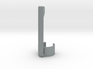 Stylus & Pen Clip - 12.0mm in Polished Metallic Plastic