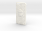 Mario Iphone 6 Plus Case in White Strong & Flexible Polished