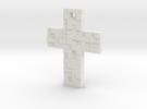 DigitalBitsCross in White Strong & Flexible