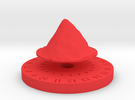 Life Counter - Mountain in Red Strong & Flexible Polished