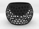 Cactus Pot in Black Strong & Flexible