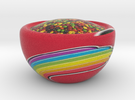 Skittlez Bowl in Full Color Sandstone