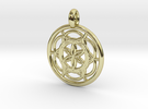 Sinope pendant in 18K Gold Plated