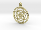 Iocaste pendant in 18K Gold Plated